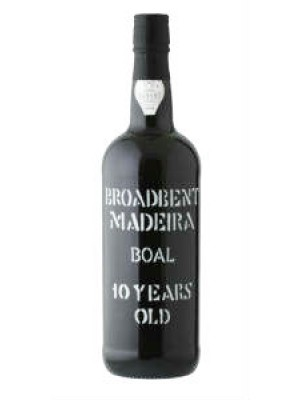 Broadbent Madeira 10yr Boal 19% ABV 750ml