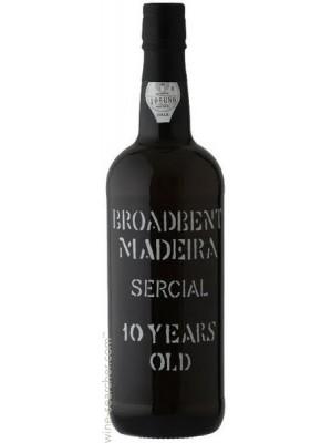 Broadbent Madeira 10yr Sercial 19% ABV 750ml