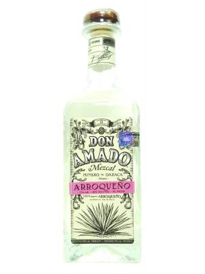 Don Amado Mezcal Blanco Arroqueno 46% ABV 750ml
