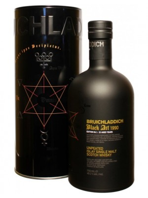 Bruichladdich Black Art 1990 Un-Peated Islay Single Malt 49.2% ABV  750ml