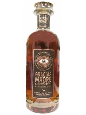 Gracias Madre Spiced Rum 40% ABV 750ml