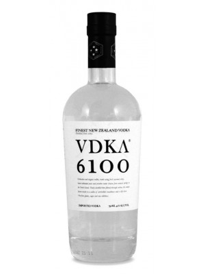 VDKA 6100 Vodka New Zealand 40% ABV 750ml