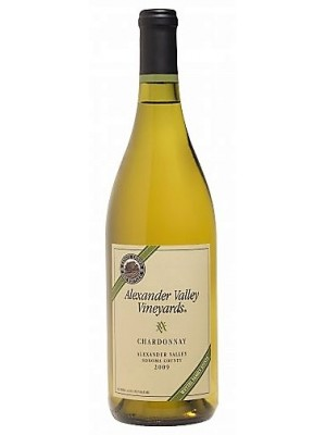 Alexander Valley Vineyards Chardonnay Alexander Valley 14% ABV 2010 750ml
