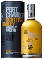 Bruichladdich Port Charlotte Scottish Barley Heavily Peated Islay Single Malt 50%ABV 750ml