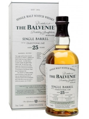 Balvenie 25yr Single Malt  47.3% ABV 750ml