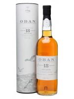 Oban Single Malt Scotch Whisky 18 Years Old 43% ABV 750ml