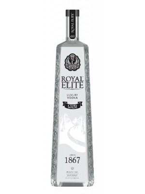 Royal Elite Luxury Vodka 6 Times Distilled 40% ABV 750ml