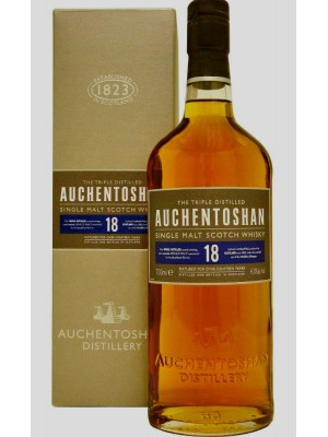 Auchentoshan Single Malt Scotch Whisky 18yr 43% ABV 750ml