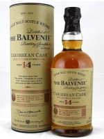 Balvenie 14yr Caribbean Cask Single Malt  43% ABV 750ml