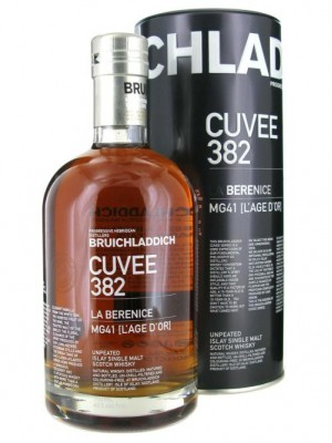 Bruichladdich Cuvee 382 La Berenice  Islay Un-Peated Single Malt  46% ABV  750ml