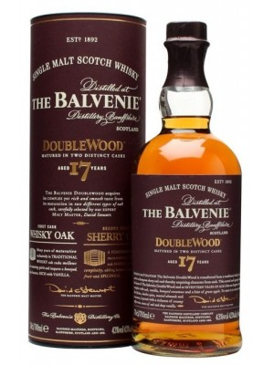 Balvenie 17yr Doublewood Single Malt 43% ABV 750ml