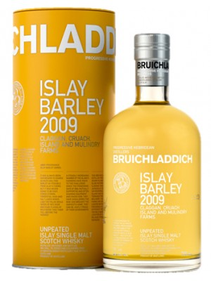 Bruichladdich 2009 Islay Un-Peated Single Malt Scotch Whisky 50% ABV  750ml