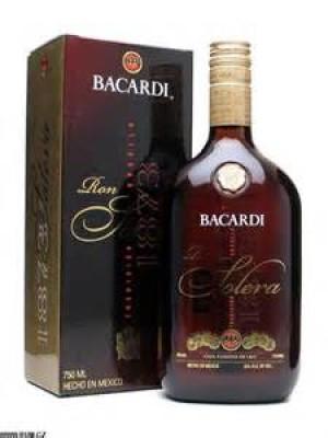 Bacardi Ron Solera 1873 Rum Mexico 40% ABV 750ml