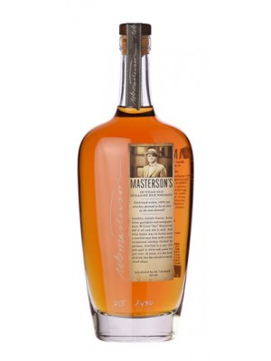 Masterson's 10-Year-Old Straight Rye Whiskey 45% ABV 750ml