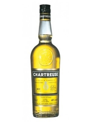 Chartreuse Liqueur Yellow  France 40% ABV 750ml