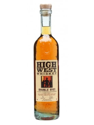 High West  Whiskey Double Rye 46% ABV  750ml