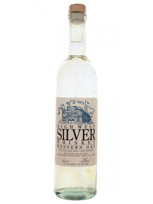 High West Silver Western Oat Whiskey Utah 40% ABV 750ml