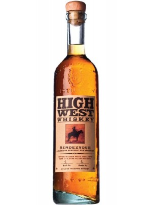 High West Rendezvous Straight Rye  Park City Utah 46% ABV 750ml