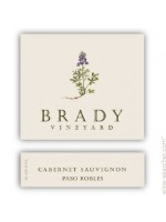 Brady Vineyard Cabernet Franc 2014 Paso Robles 15% ABV 750ml