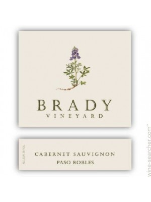 Brady Vineyard Cabernet Franc 2014 Paso Robles 15% ABV 750ml