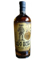 Black Bart Navy Rum 55.5% ABV 750ml