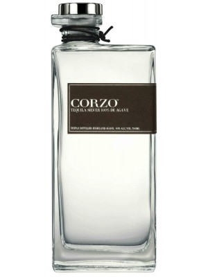 Corzo Silver 100% Agave Tequila 40% ABV 750ml