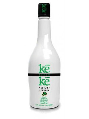 KeKe Beach Key Lime Cream Liqueur 15% ABV 750ml