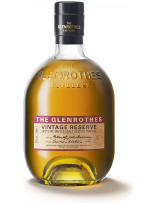 Glenrothes Vintage  Reserve Speyside Single Malt 40% ABV 750ml
