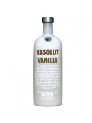 Absolut  Vanilia Vodka Sweden 40% ABV 750ml