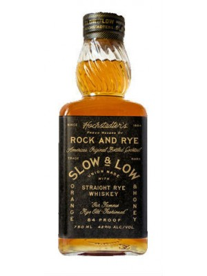 Hochstadters Slow & Low Rock and Rye 42% ABV 750ml