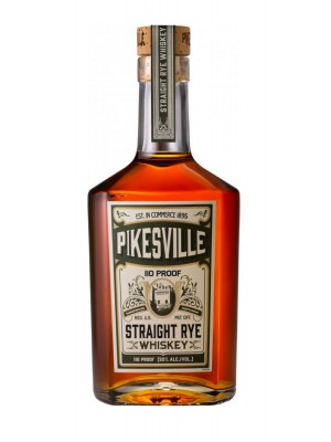 Pikesville Straight Rye Whiskey 55% ABV 750ml