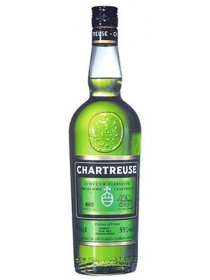 Chartreuse Liqueur  Green France  55% ABV  750ml