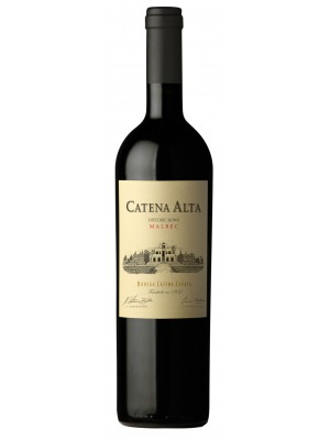 Catena Alta Malbec  Mendoza  2013  14% ABV  750ml