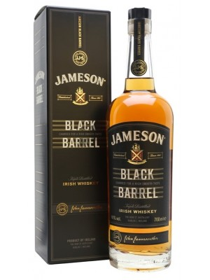 Jameson Black Barrel Triple Distilled  40% ABV 750ml