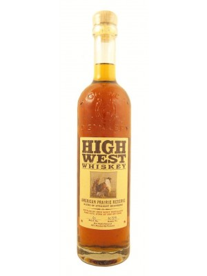 High West American Prairie Straight Bourbon Utah 46% ABV  750ml