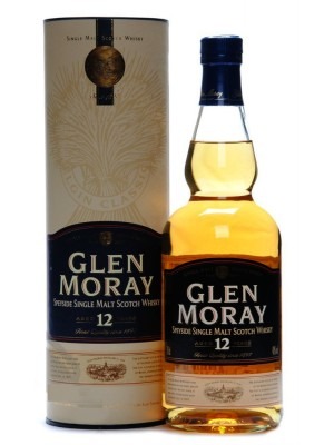 Glen Moray 12yr Speyside Single Malt 40% ABV 750ml