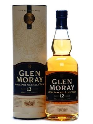 Glen Moray 12yr Speyside Single Malt 40% ABV 750ml