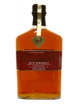 Prichard's Tennessee Rye Whiskey 43% ABV 750ml