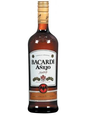 Bacardi Anejo Rum 40% ABV 1L