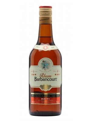 Rhum Barbancourt 4yr 3 Star Haiti 43% ABV 750ml