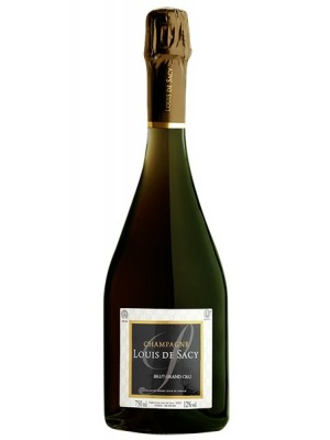 Louis De Sacy Brut Grand Cru Kosher Passover 12% ABV 750ml