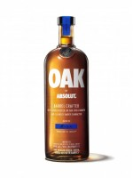Oak by Absolut Barrel Crafted Vodka Sweden 40% ABV 750ml