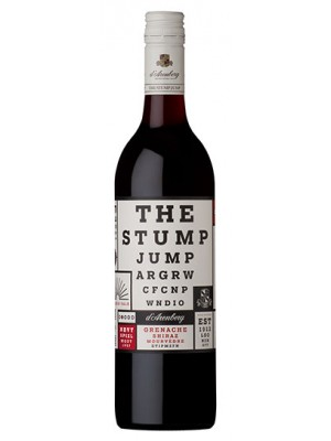 D'Arenberg The Stump Jump 2009  McLaren Vale 14.3% ABV 750ml