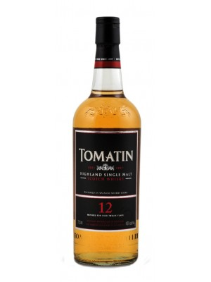 Tomatin 12 Year Highland Single Malt 43% ABV 750ml