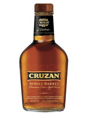 Cruzan  Rum Single Barrel St. Croix 40% ABV 750ml