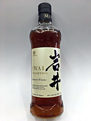 Mars IWAI Tradition Japanese Whisky 40% ABV 750ml