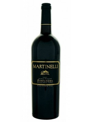 Martinelli Zinfandel Vellutini Ranch RRV 2009 16.1% ABV 750ml
