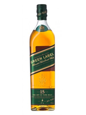 Johnnie Walker Green Label 15yr Blended Malt 43% ABV 750ml