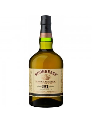 Redbreast Irish Whiskey 21yr 46% ABV 750ml
