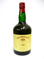 Redbreast  Irish Whiskey 12yr 40% ABV 750 ml